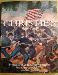 Printed and Manuscript Americana including the Civil War; 9 June 2004;  Sale No. 1388A