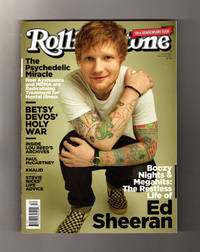 Rolling Stone - March 23, 2017.  Ed Sheeran (Cover); Ayahuasca & MDMA for Mental Health; Lou Reed; Paul McCartney & Elvis Costello; Alessia Cara; Khalid; Stevie Nicks; Roger Waters; Michelle Branch; Clyde Stubblefield; Freakazoid Betsy Devos