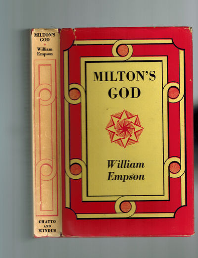 London: Chatto & Windus, 1961. From the library of noted Milton scholar Peter A. Lindenbaum, with hi...