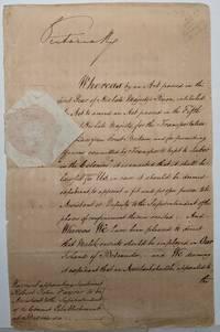 Exceptional Manuscript Document