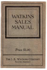 Watkins Sales Manual