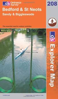 image of Bedford and St.Neots, Sandy and Biggleswade (Explorer Maps) (OS Explorer Map)