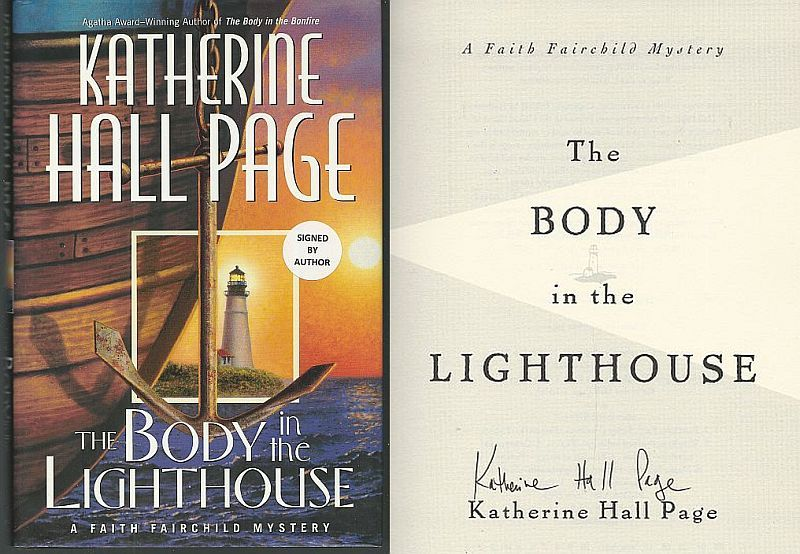 BODY IN THE LIGHTHOUSE, Page, Katherine Hall