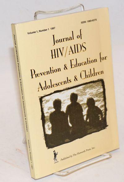 Binghamton: Haworth Press, 1997. Paperback. 119p. + ads, very good first edition trade paperback jou...