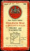 image of Ordnance Survey One-Inch Map : Sheet 190 Truro and Falmouth [1]