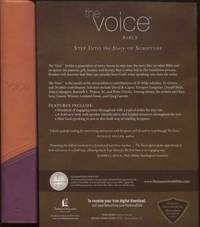 The Voice Bible, Leathersoft, Orange/Purple Step Into the Story of  Scripture