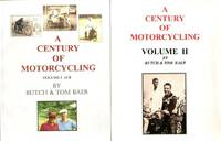A Century of Motorcycling Indian History Butch & Tom Baer 2 Vol. Set Signed Limited