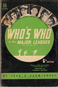 Who's Who in the Major Leagues