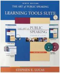 image of The Art of Public Speaking: With Student CDs 5.0, Audio Cd Set, Powerweb & Topic Finder