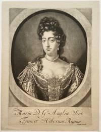 Maria D.G. Angliae Scot: Fran: et Hiberniae Regina; (Queen Mary)