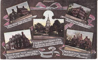 image of A Multi View Postcard of Annapolis with Train Timetable and Prices