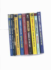 NINE VOLUMES ROBERT A HEINLEIN:  Between Planets; Rocket Ship Galileo; The Rolling Stones; Space...