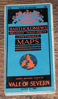 "Vale of Severn - Bartholomew's Revised ""Half-Inch"" Contoured Maps, Great Britain Sheet 18 by John Bartholomew & Son Ltd - Paperback - Revised Edition - 1953 - from Bailgate Books Ltd and Biblio.com"