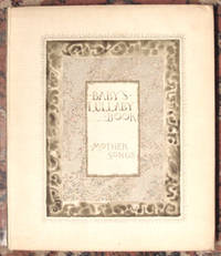 (BOOKBINDING) PRATT, Charles Stuart. BABY'S LULLABY BOOK. MOTHER SONGS. Boston: L. Prang, 1888. Foli...