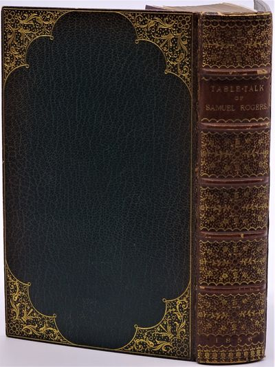 London: Edward Moxon, 1856. Handsomely bound in full green morocco, the back ornately stamped in gil...