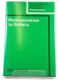State Pensions in Britain by  John Creedy - Hardcover - 1982 - from PsychoBabel & Skoob Books (SKU: 469328)