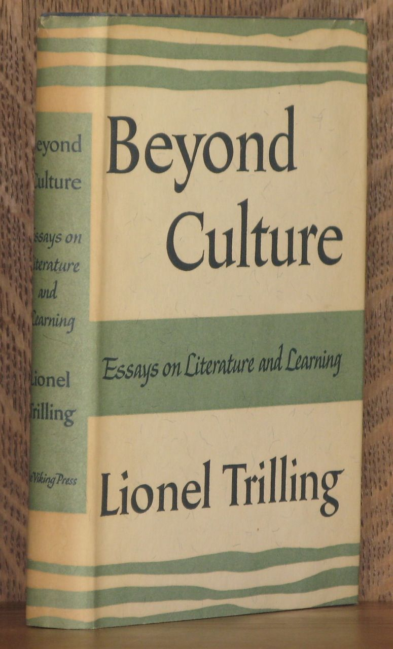 trilling essays Amazoncom: the moral obligation to be intelligent: selected essays ( 9780810124882): lionel trilling, leon wieseltier: books.