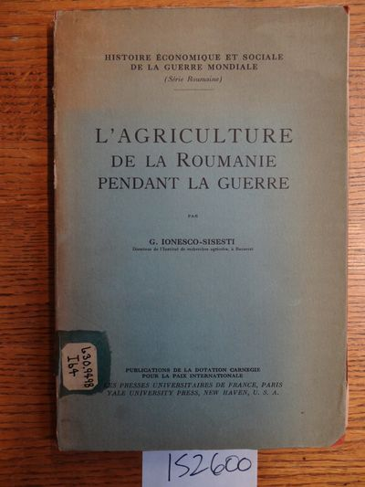 Paris: Les Presses Universitaires de France, nd. Softcover. Clean internally but with age toning to ...