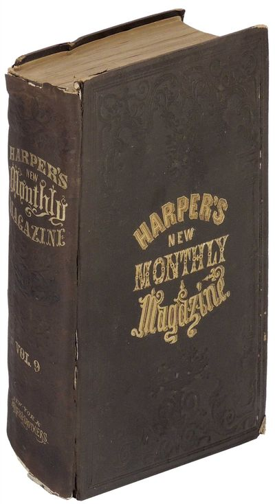 New York: Harper & Brothers, 1854. Hardcover. Very Good. Hardcover. This volume contains three early...