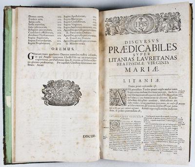 Augsburg and Dillingen: Joannis Caspari Bencard, 1735. Later printing. Hardcover. fair. Small folio....