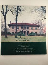 The Contents of Mountain Crest The Collection of Mrs. Loyce Mayfield Sale 4005