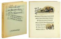 Les Chants du Quartier Latin et de l'Internat avec la musique et 53 illustrations coloriees au pochoir.
