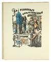 View Image 2 of 2 for Les Chants du Quartier Latin et de l'Internat avec la musique et 53 illustrations coloriees au pocho... Inventory #123808