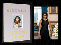 Becoming (Signed Deluxe Limited Ed, w/ Bonus Photo) by  Michelle Obama - Signed First Edition - 2018 - from Bookcharmed (SKU: 90658)