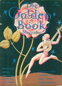 The Golden Book Magazine, July 1929, Vol. X, No. 55. Includes pieces by Rilke, Chekhov, & Sinclair Lewis