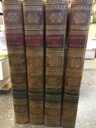 London: Printed for T. Longman, &c, 1794. New Edition. Hardcover. Octavos, four volumes; VG; bound i...