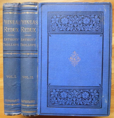 1874. In Two Volumes. With Illustrations Engraved on Wood. London: Chapman and Hall, 1874. Original ...