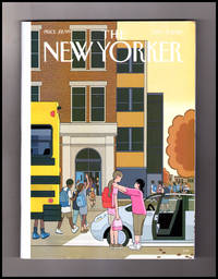 "image of The New Yorker - September 17, 2018. Chris Ware Cover, ""Looking Up""; Facebook vs. Democracy; Termites; George Benjamin; Leonard Bernstein; The Children Act; Trump & Kavanaugh; Bee Police; Black Napkins"
