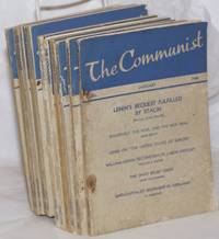 image of The Communist, Vol. 19, no. 1, January to no. 12, December, 1940 a magazine of the theory and practice of Marxism-Leninism