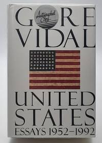 United States: Essays 1952-1992.