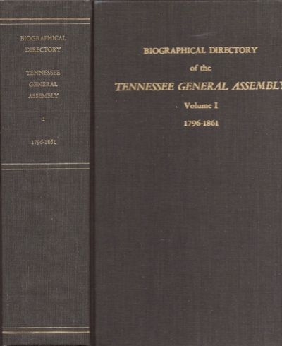 Nashville: Tennessee State Library and Archives and the Tennessee Historical Commission, 1975. First...
