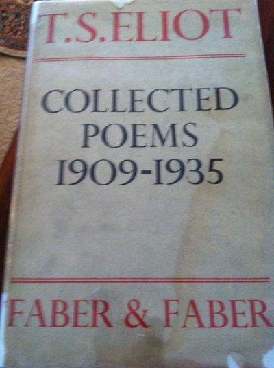 Vialibri T S Eliot Collected Poems 1909 1935