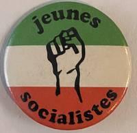 Jeunes Socialistes [pinback button]