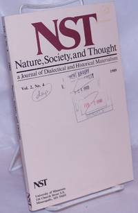 image of Nature, Society and Thought NST A Journal Of Dialectical And Historical Materialism 1989, Volume 2, Number 4