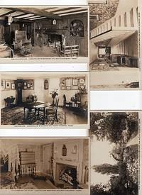 GROUP OF FIVE (5) REAL-PHOTO POSTCARDS OF LONGFELLOW'S WAYSIDE INN, SOUTH SUDBURY, MASSACHUSETTS,  CIRCA 1901-1907