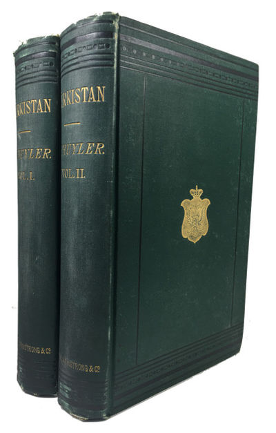 New York: Scribner, Armstrong & Co, 1877. Hardcover. Very Good. 2 vols. frontis, illustrations, 3 fo...