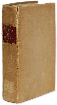 A Briefe Treatise of Testaments and Last Willes, Very Profitable..