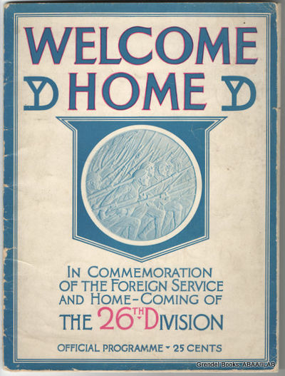 Boston:: Committee of Welcome,. Very Good. 1919. Paperback. B01345416G . Black and white photographs...