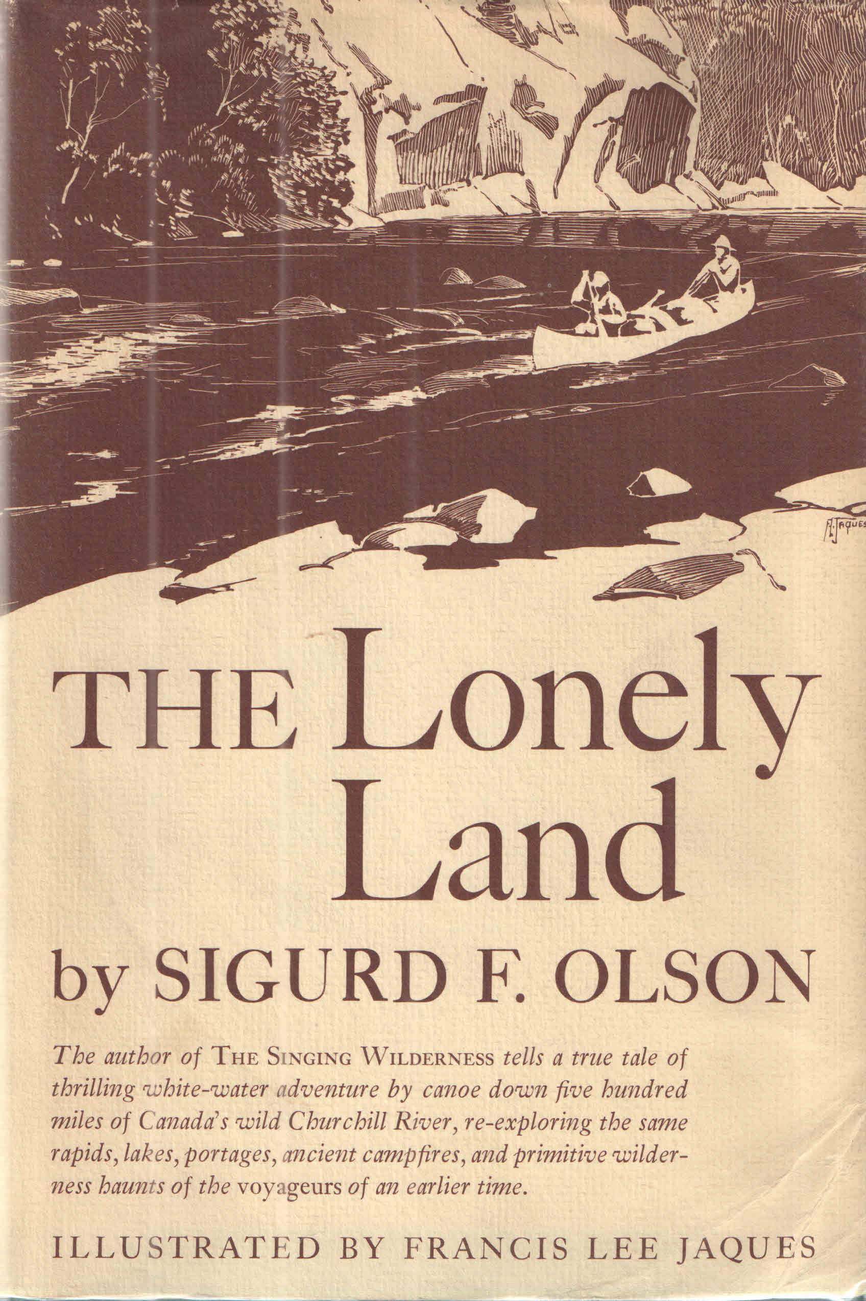 Book Review: The Lonely Land by Sigurd Olson