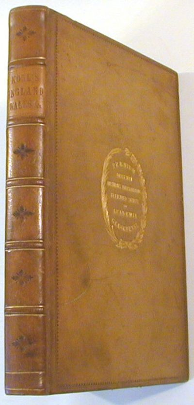 London: Chapman and Hall, 1844. Early Edition. Hardcover. Very good. 8vo. iv,248,(ii),100,pp. Two wo...