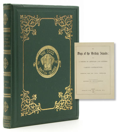 London: Horace Cox, 1867. First Edition. Illustrated. vii, , 148pp. Small 4to. Originla green publis...