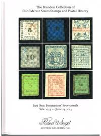 The Brandon collection of CSA stamps and postal history