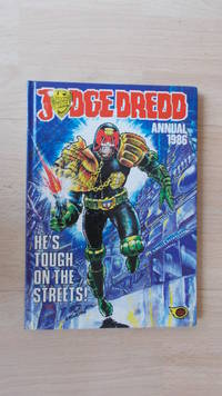Judge Dredd Annual 1986.