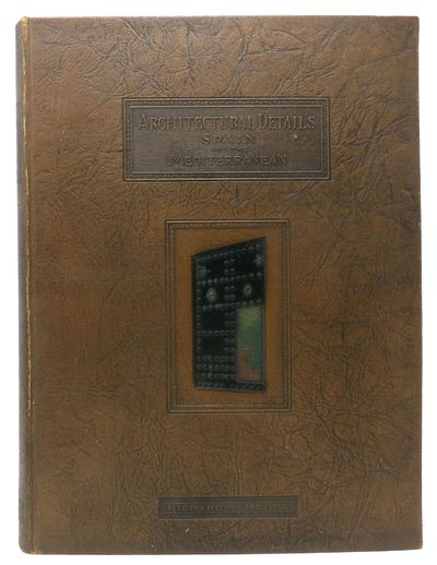Los Angeles: The Monolith Portland Cement Company, 1926. 1st Book Edition. Embossed brown leatherett...