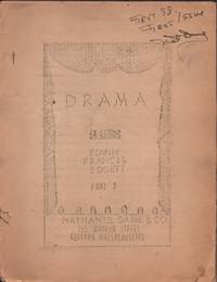 image of DRAMA EX LIBRIS, Part 2 Of the Edwin Francis Edgett Library, The Stage.