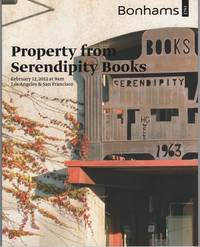 image of PROPERTY FROM SERENDIPITY BOOKS:  Sunday, February 12, 2012 at 9 am,  Simulcast Auction, Los Angeles & San Francisco